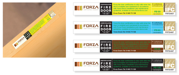 Fire_Door_Labels_Group_Image.jpg  sc 1 st  Forza Doors & Forza Doors | Fire Label Certification