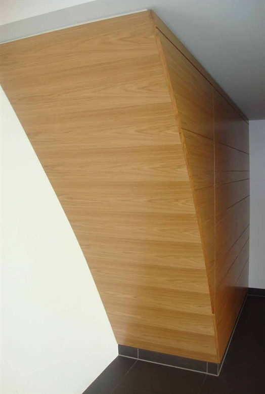 feature wall oak veneerjpg