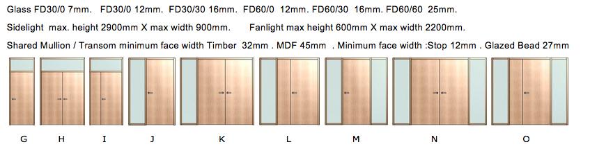 Sidelight u0026 Fanlight Doorframes FD30 (click here) u0026 FD60 (click here)  sc 1 st  Forza Doors & Forza Doors | 30min (FD30) u0026 60min (FD60) Design Feature Timber ...
